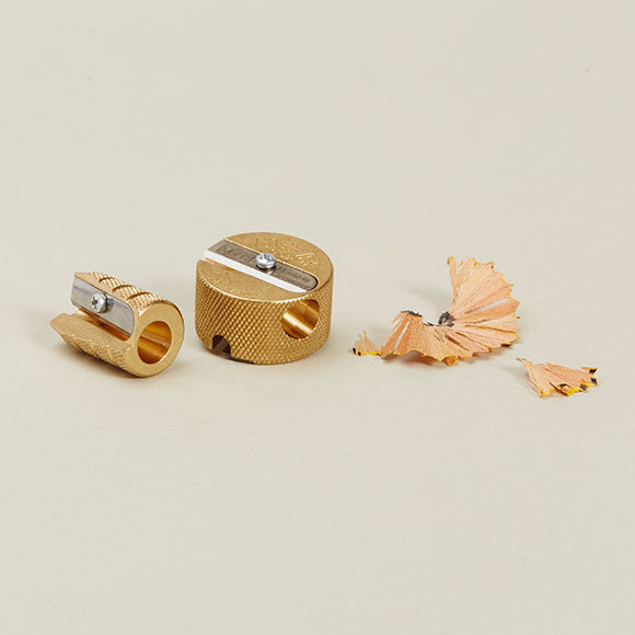 Conical Brass and Circular Pencil Sharpener