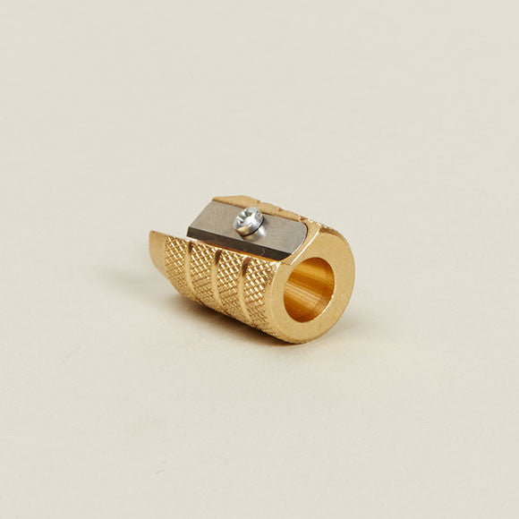 Conical Brass Pencil Sharpener