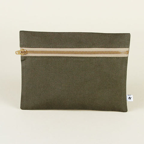 Agatha Wash Bag - Khaki