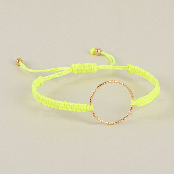 Halo Bracelet - Neon Yellow
