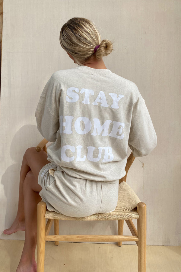 Stay Home Club Sweatshirt (Sold Out)