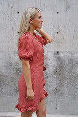 Crinkle Valentine Dress (Sold Out)
