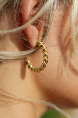 Wendi Twist Hoops (Sold Out)