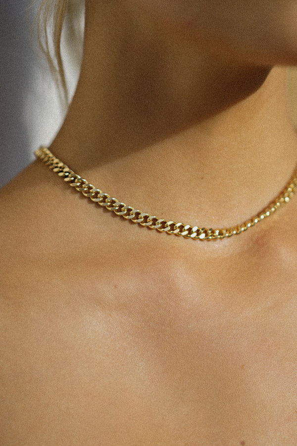 "Resa Chain Choker 15"" (Sold Out)"