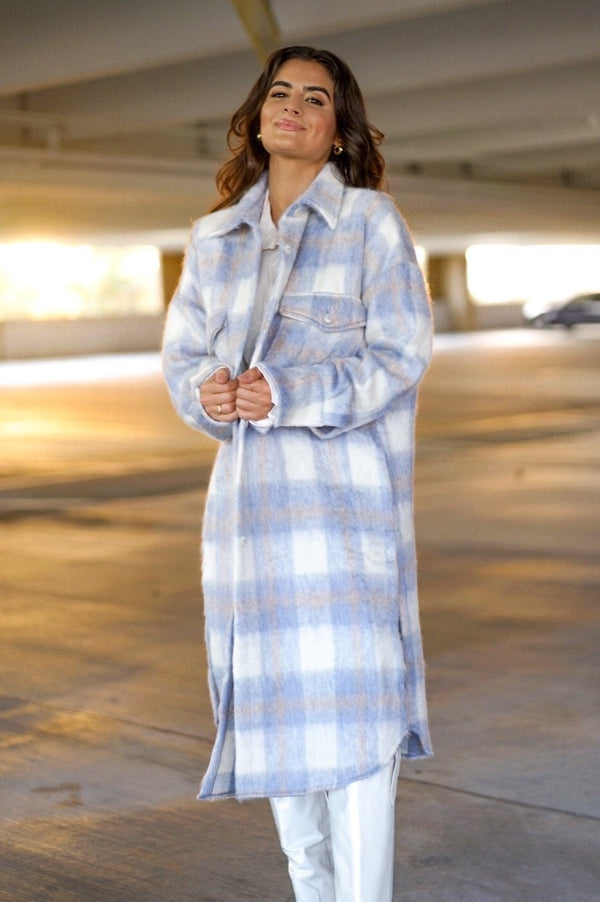 Blue Me Away Coat (Sold Out)