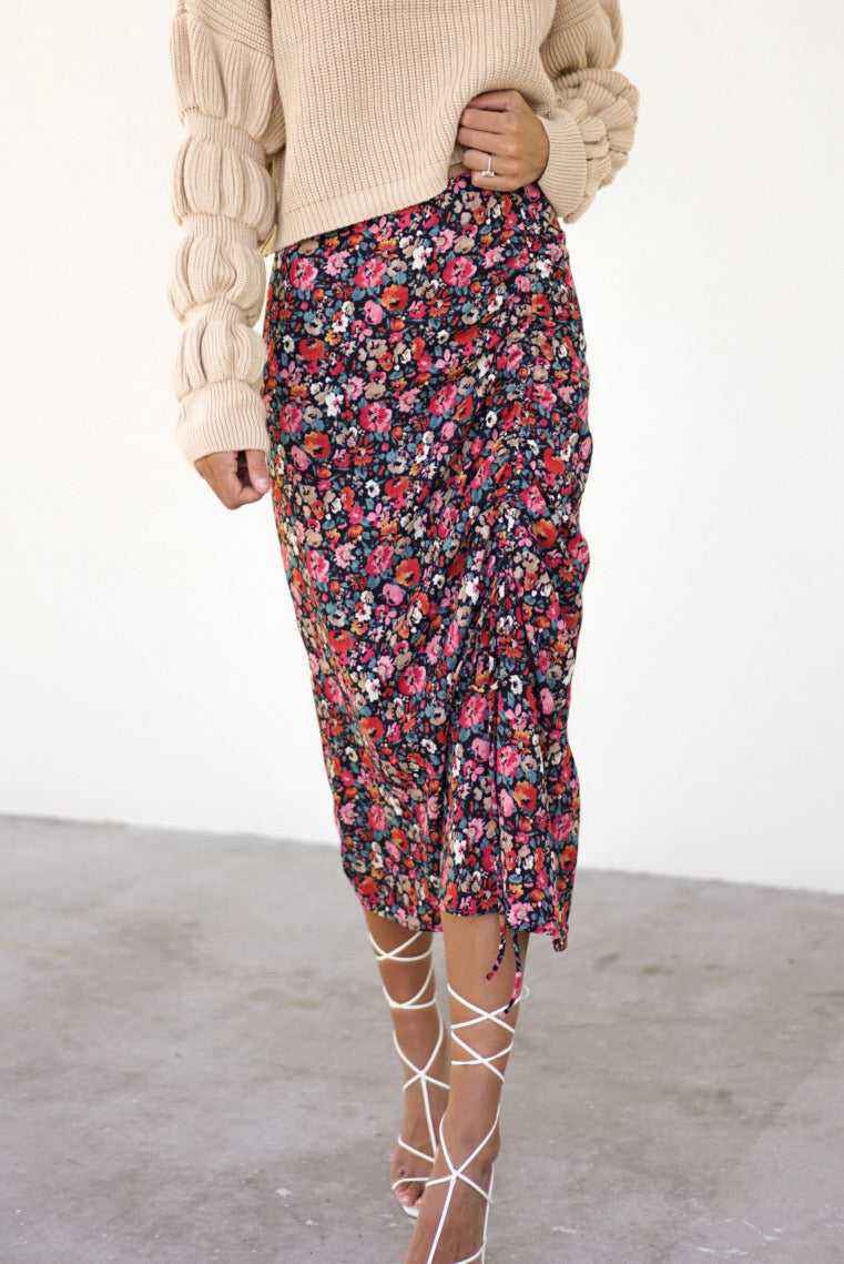 Thinking Out Loud Midi Skirt