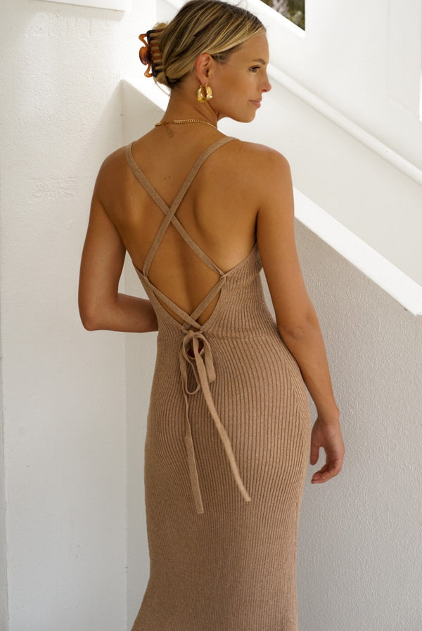 Knits Up To You Maxi Dress (Sold Out)