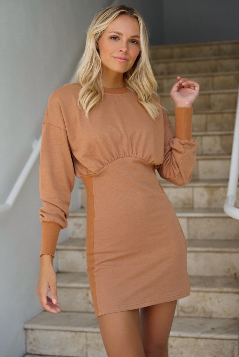 When In Rome Dress — Auburn (Sold Out)