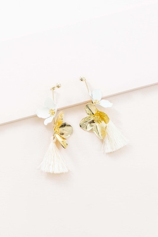 Flora Drop Earrings (Sold Out)