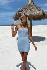 Dream On Dress - Baby Blue