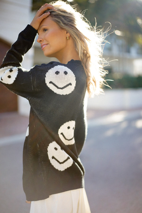 Sequoyah Smiley Sweater