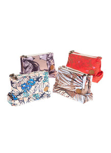 Maaji Assorted Three Maajical Pocket Make-Up Bag - 1246