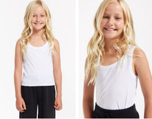 Load image into Gallery viewer, ZSupply Girls Oaklynn Rib Tank - White