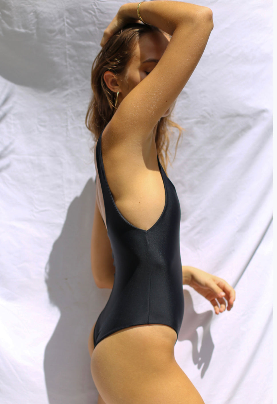 Benoa Sandy One-Piece in Black