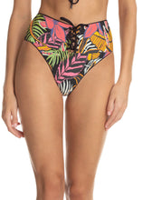 Load image into Gallery viewer, Hat Black Applause High Rise Reversible Bikini Bottom