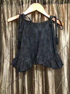 Khush Mini Milly Top - Boa Charcoal