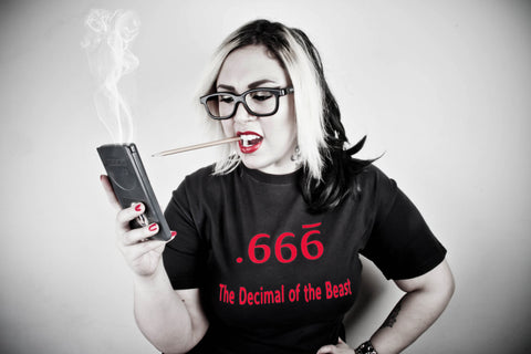 The Decimal of the Beast .666 - Hazardous Tees - 1