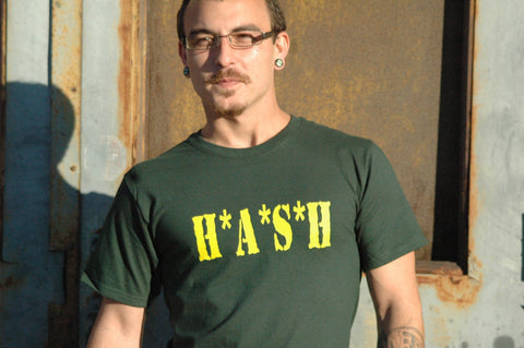 Hash Tee Shirt - Hazardous Tees - 1