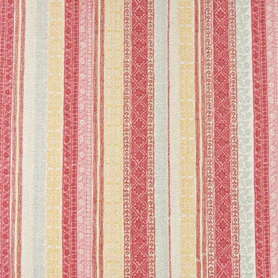 Kathryn Ireland Keltic Stripe in Pink/Red Multi Custom Decorative Accent Throw Pillow