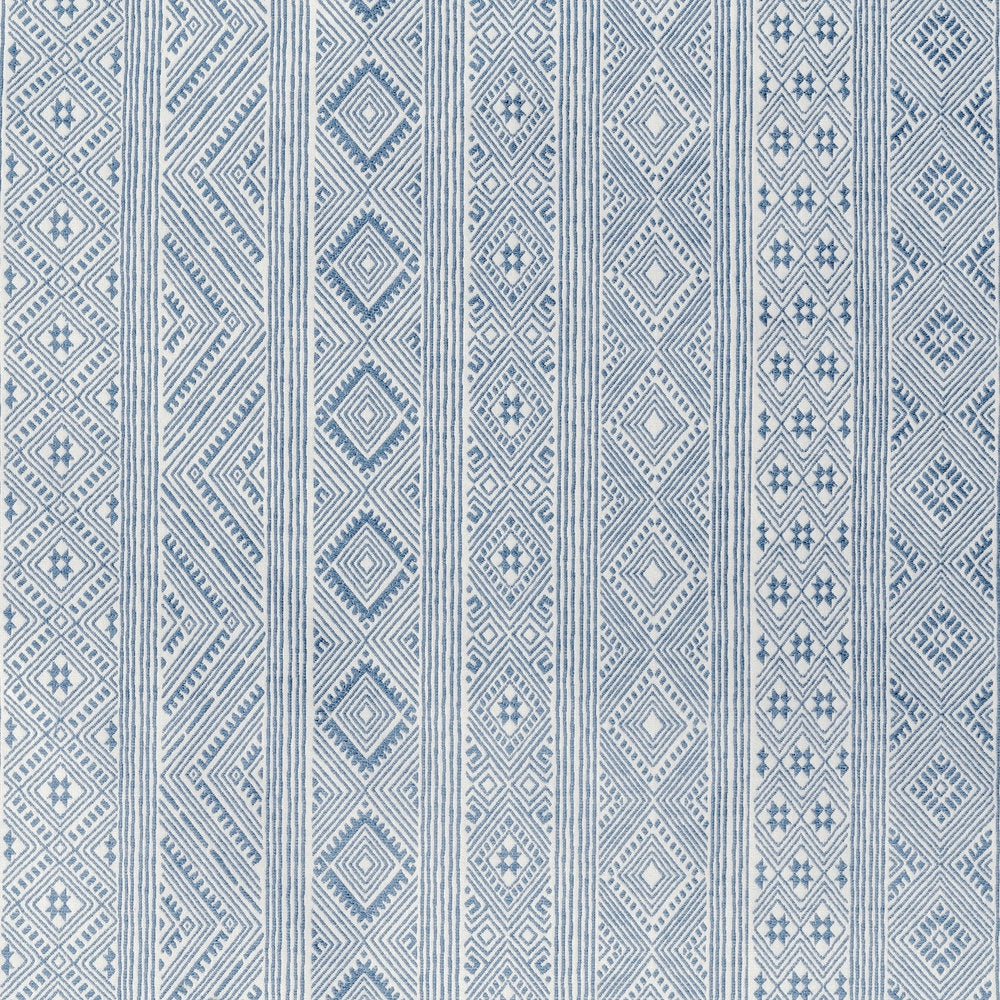 Blithfield Halsey in Medium Blue Designer Fabric