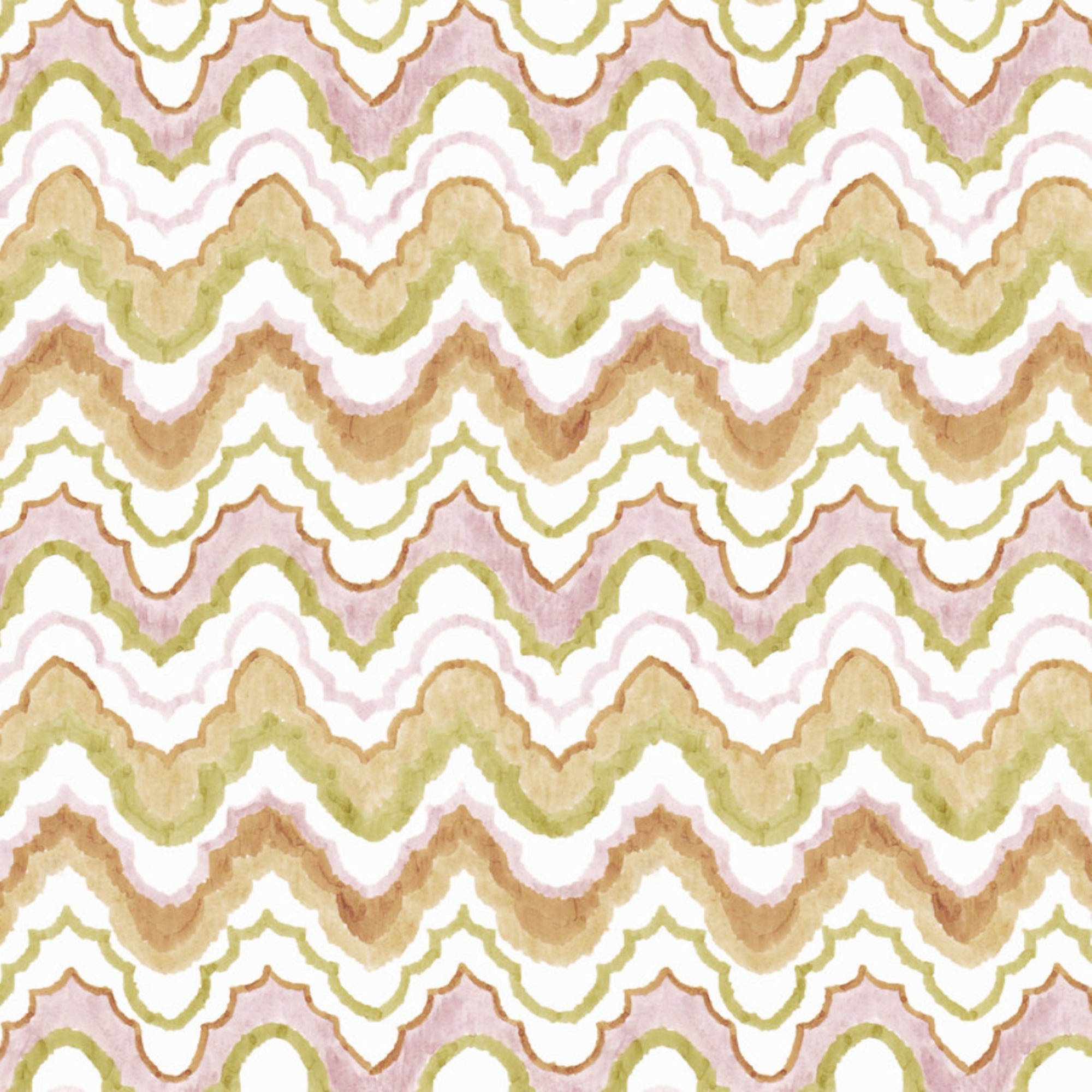 Ferran Textiles Bargello in Clay Designer Fabric