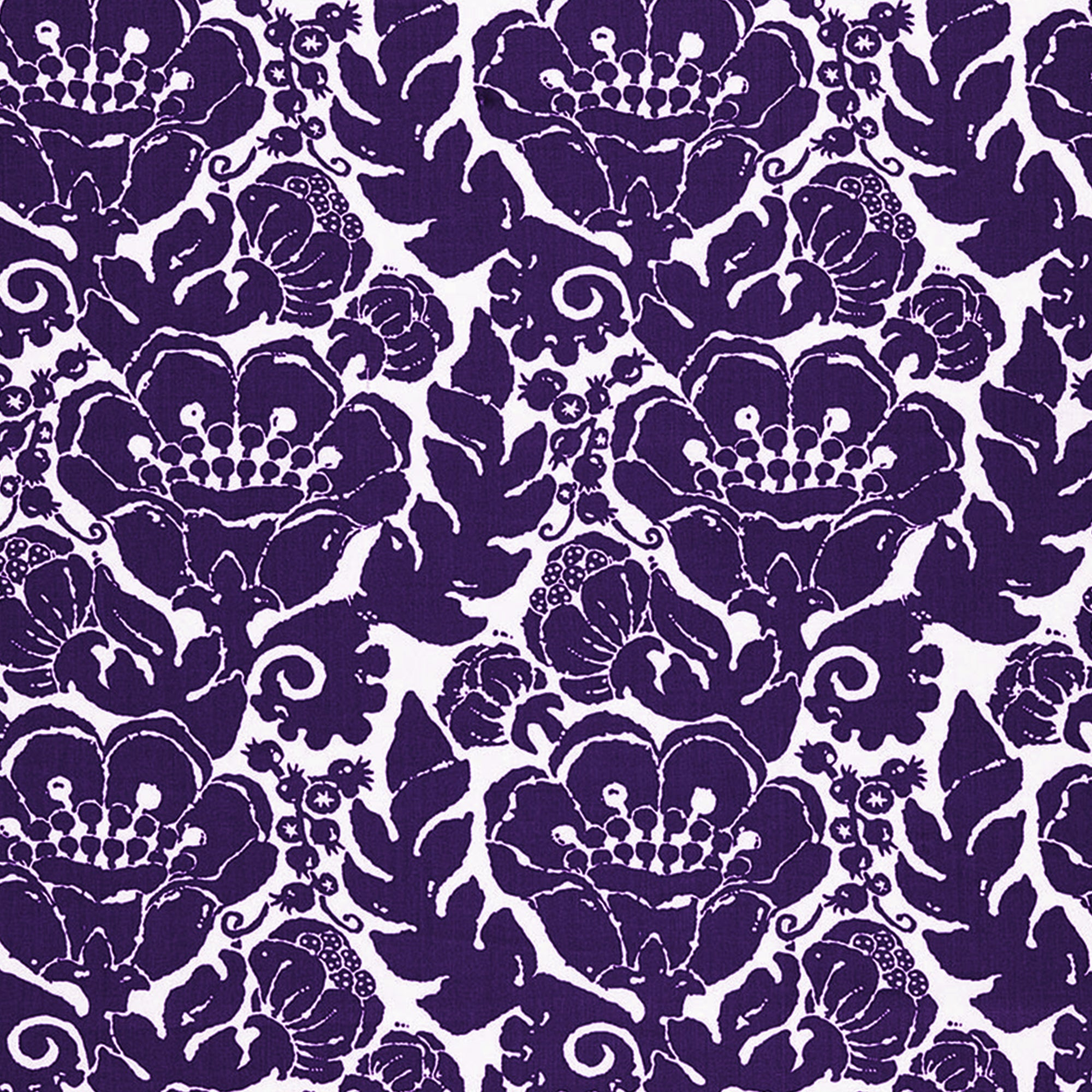 Trina Turk Louis Nui Print in Violet Outdoor Designer Fabric