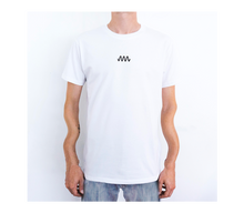 Load image into Gallery viewer, T-Shirt white / black (front an back print)