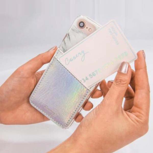 Silver Phone Pocket