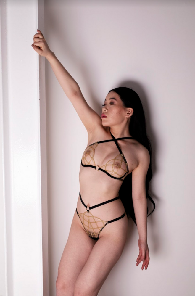 Jalsa Waist Strap Knicker - Shop unique & Luxury lingerie online | Chantilly Affair