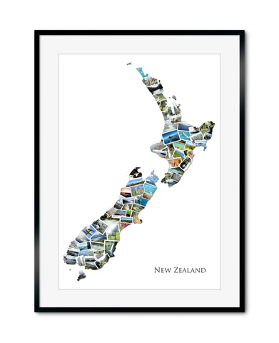 New Zealand Destination Collage