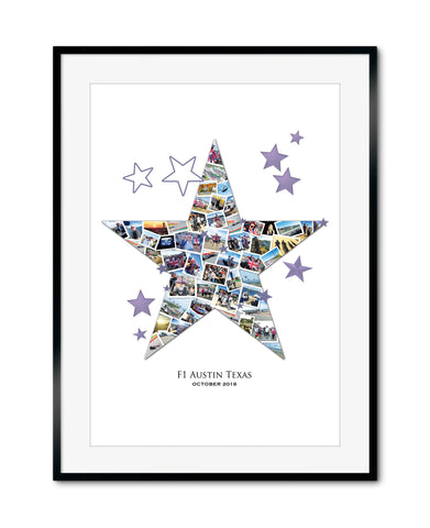 His Star Collage