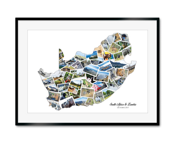 South Africa Destination Collage