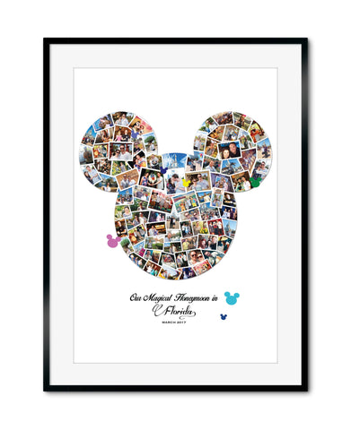 Magical Mickey Photo Collage