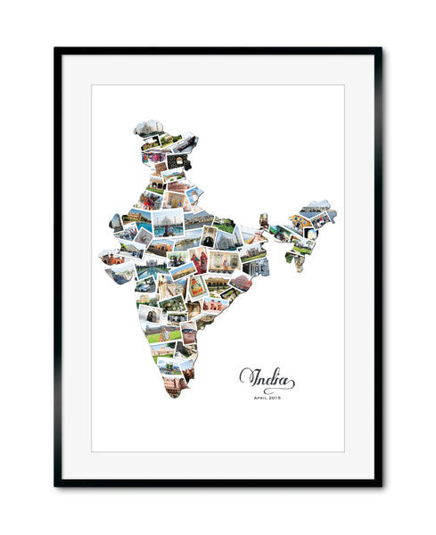 India Destination Collage