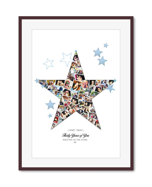 Great Friend Star Collage