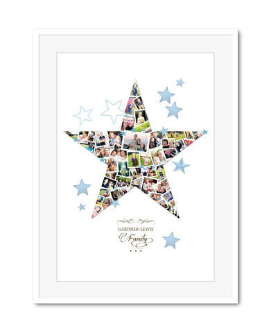 Family Star Collage
