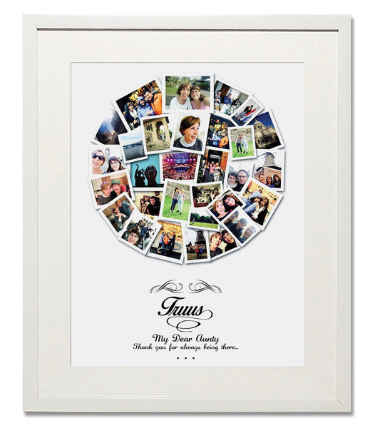 Thank-You Circle Collage - Treasure on the Wall - 1