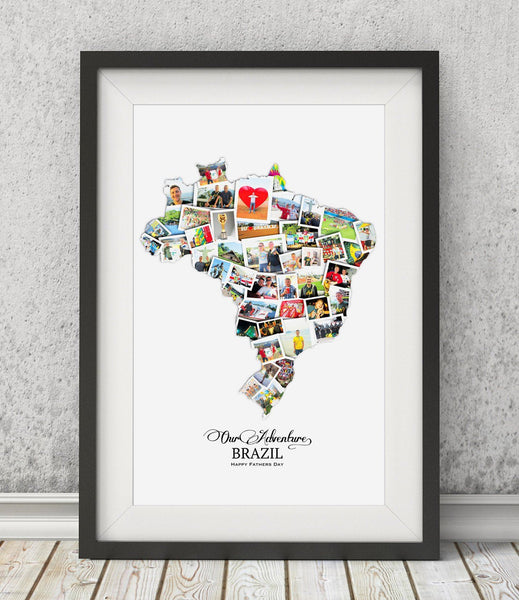 Luxury Father's Day Destination Collage - Treasure on the Wall - 1