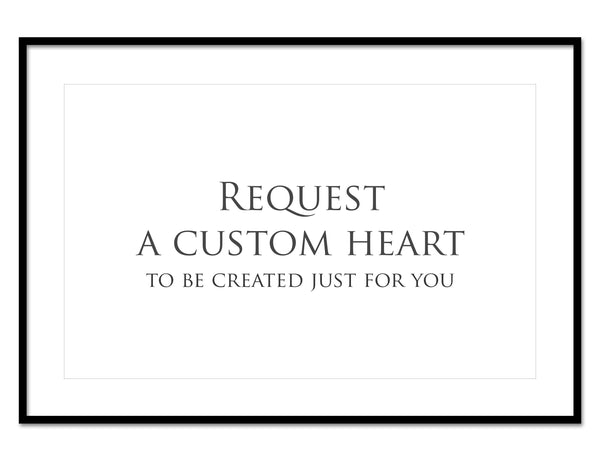 Request any Heart Collage