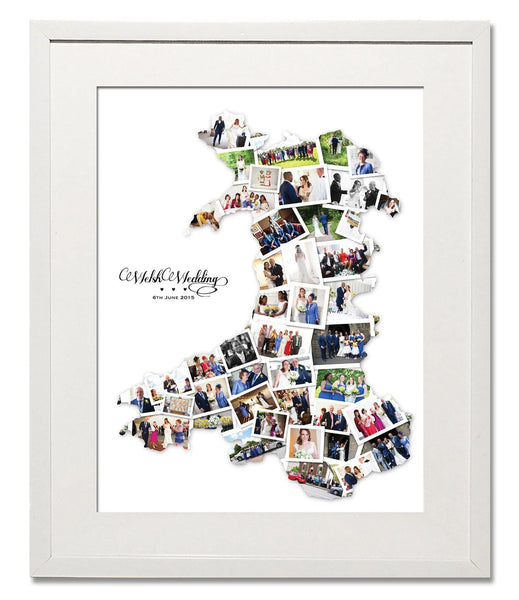 Wales Wedding, Honeymoon & Anniversary Collage - Treasure on the Wall - 1