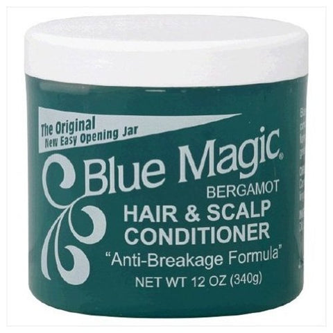 Soft touch hair & scalp condi jar green 1