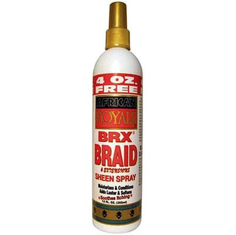 African royale brx braid and extensions sheen spray 8oz