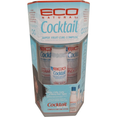 Eco cocktail - complete curl care system