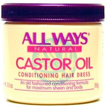 All ways castor oil conditiong hair dress herbal formula 5.5oz