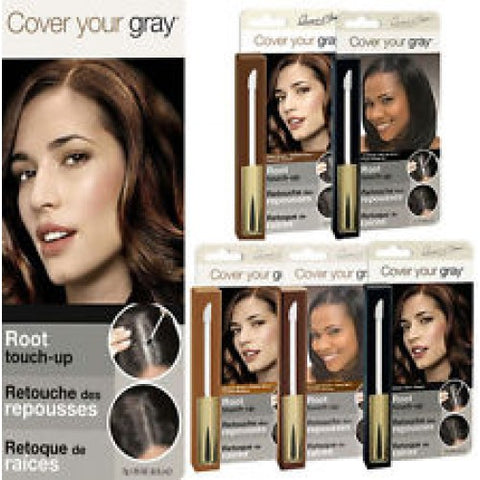 Cover your gray root touch-up