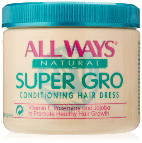 All ways natural super gro lite conditioning hair dress 5.5oz