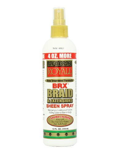 African royale brx braid and extensions spray on shampoo 12oz