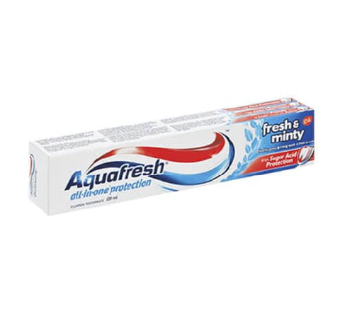 Aquafresh toothpaste 100ml
