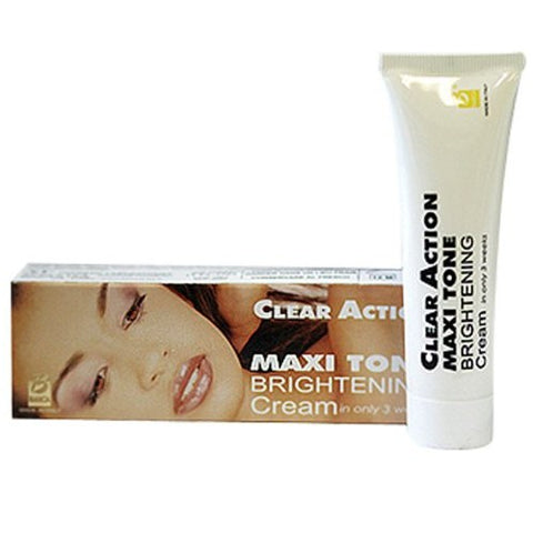 A3 clear action maxi tone brightening cream tube 25ml