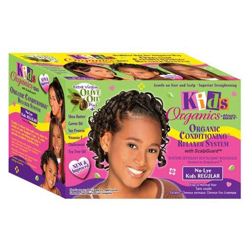 Africa's best kids organics organic conditioning relaxer system - (2 applications)